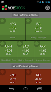 Mob Stock - Market Watcher - screenshot thumbnail