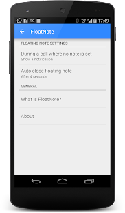 FloatNote - phone call notes Screenshot 4
