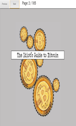 Idiot's Guide to Bitcoin