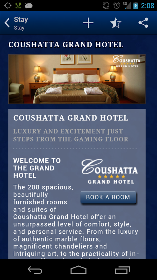 Coushatta Casino Resort- screenshot