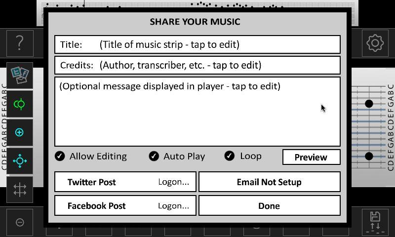 Music Box Composer- screenshot