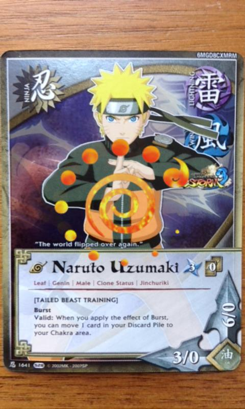 NARUTO CARD SCANNER- screenshot