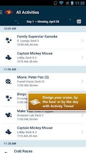 Disney Cruise Line Navigator - screenshot thumbnail
