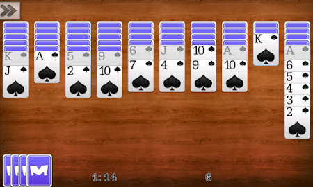 Spider Solitaire Screenshot 12