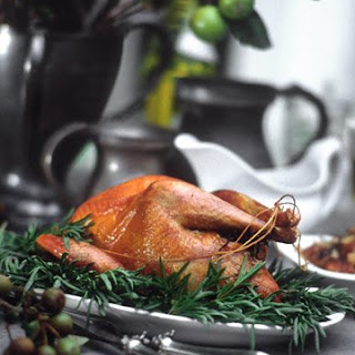 Roast Pheasant with Chestnut Fennel Fricassee