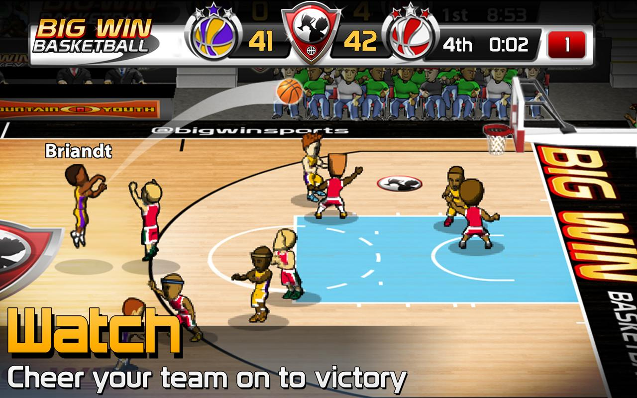 BIG WIN Basketball - screenshot