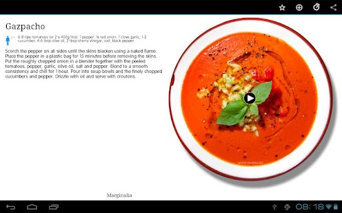 Talerka Video Recipes- screenshot thumbnail