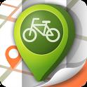 두바퀴 생태여행 자전거 내비게이션 icon