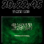 Saudi Arabia Digital Clock