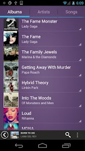 Fusion Music Player - screenshot thumbnail