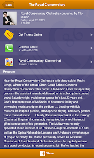 Royal Conservatory Concerts - screenshot thumbnail