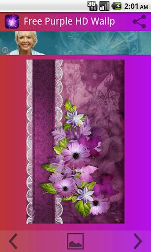 無料个人化Appの紫色の無料のHD壁紙|記事Game