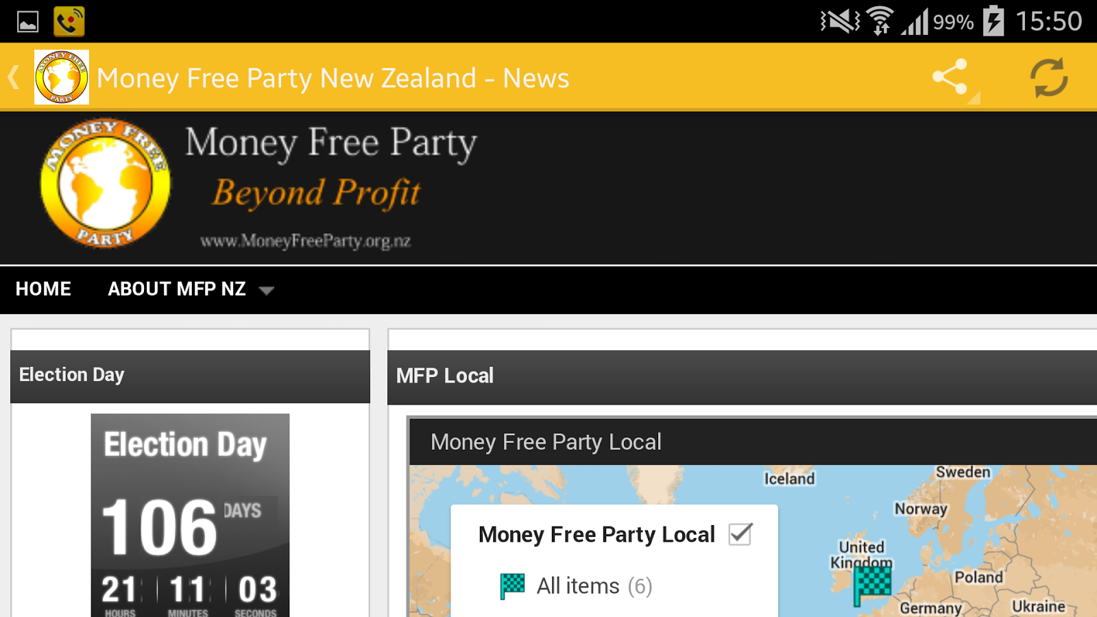 Money Free Party- screenshot