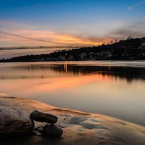 An Quiet Evening by Ankur Chaturvedi - Landscapes Travel