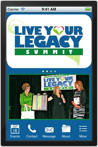 Live Your Legacy Summit - screenshot