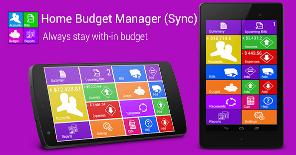 Home Budget Manager- screenshot thumbnail