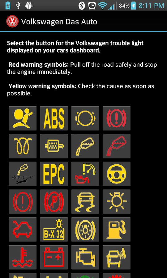 Audi Check Engine Light Symbols Audi Free Engine Image