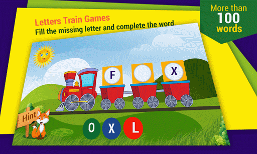 Kids Learn Words with Fun Game