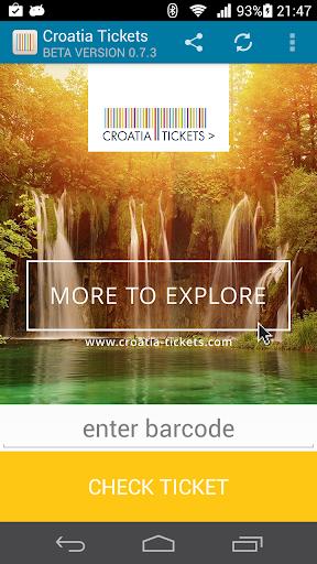 Croatia Tickets