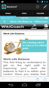 WorkOnIT - Personal Life Coach - screenshot thumbnail