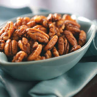 Sweet & Spicy Nuts.