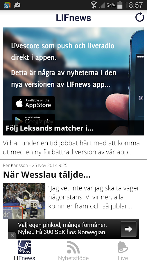 LIFnews- screenshot