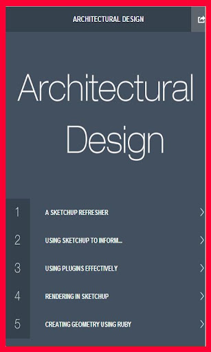 Learn Architecture SketchUp