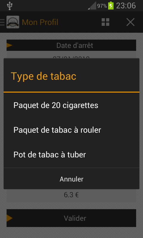 J'arrête De Fumer - screenshot