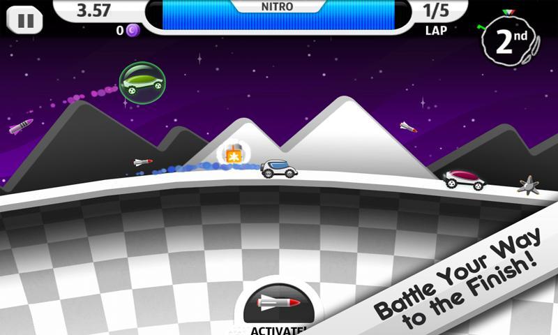 Lunar Racer screenshot #2