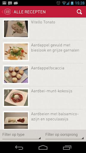Vier Recepten