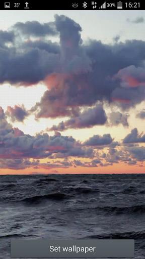 Ocean Wave Tides LWP