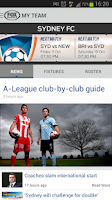 Screenshot of FOX SPORTS A-League
