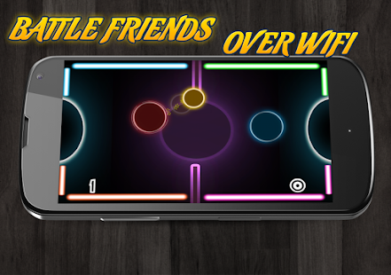 Glow Air Hockey Multiplayer