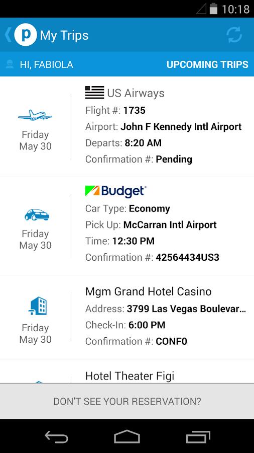 Priceline.com Hotels & Cars - screenshot