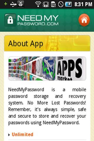 玩生產應用App|NeedMyPassword App免費|APP試玩