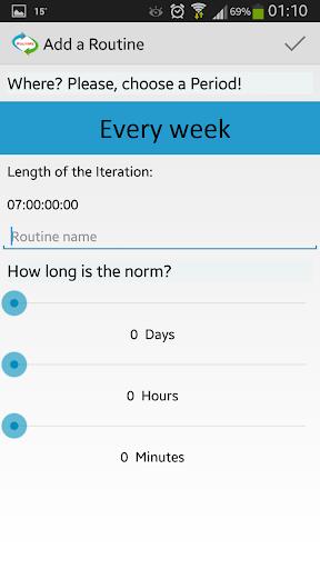 【免費生產應用App】RoutiMe: Routine Time Track-APP點子