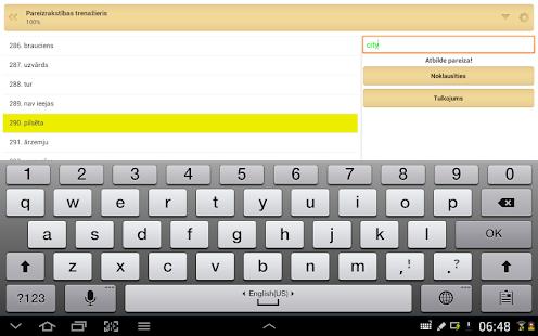 QuickTeacher Angļu valoda - screenshot thumbnail