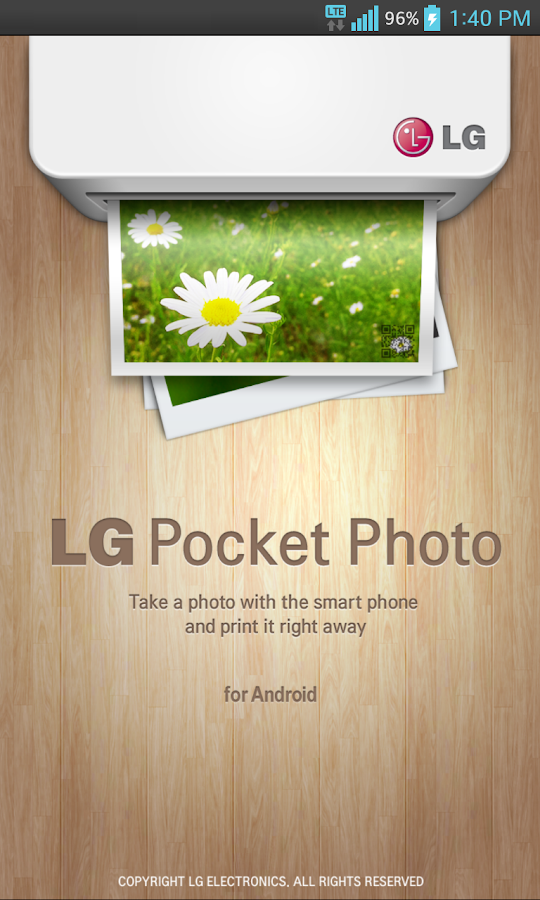 LG Pocket Photo - screenshot