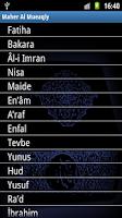 Screenshot of Maher Al Mueaqly Offline MP3