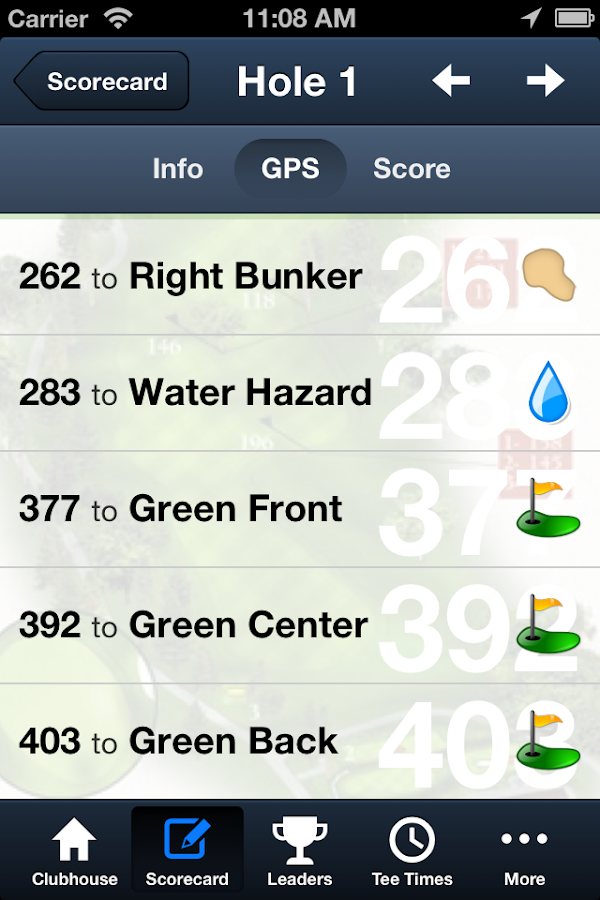 L.A. Nickell Golf Course- screenshot