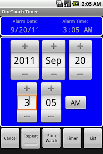 OneTouch Timer Full - screenshot thumbnail