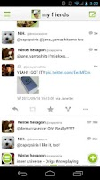 Screenshot of Janetter Pro for Twitter