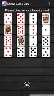 Khmer Game Card