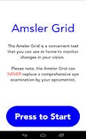 Screenshot of Amsler Grid