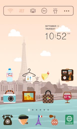 玩個人化App|ドキドキパリ ドドルランチャーテーマ免費|APP試玩