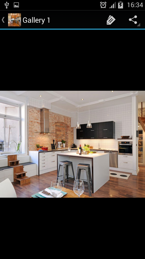 Kitchen decorating ideas android apps on google play for Kitchen ideas app