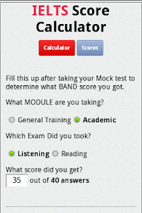 IELTS Score Calculator- screenshot thumbnail