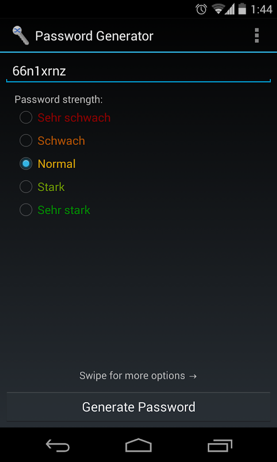 Password Generator - screenshot