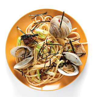 Japanese-Style Linguine with Clams.