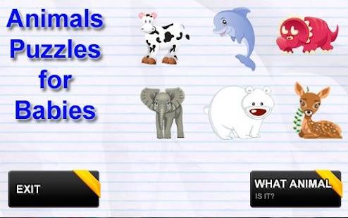 動物拼圖為孩子1